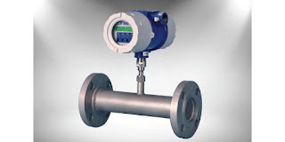 thermal mass flow meter inline style