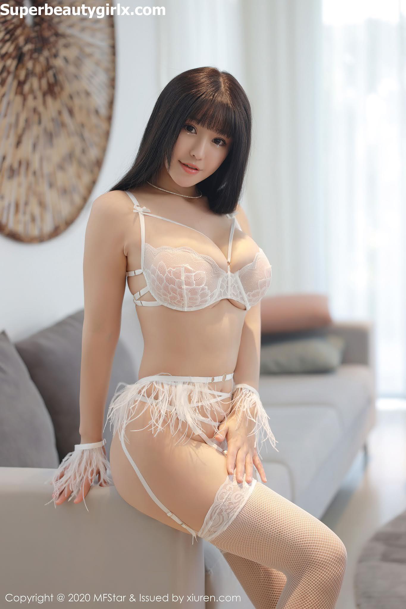 MFStar-Vol.415-Zhu-Ke-Er-Flower-Superbeautygirlx.com