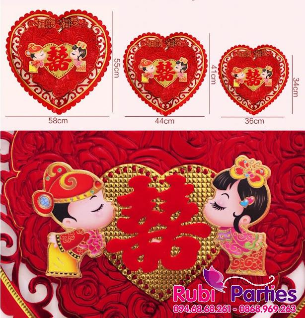 Shop ban do trang tri phong cuoi gia re tai Hoang Mai