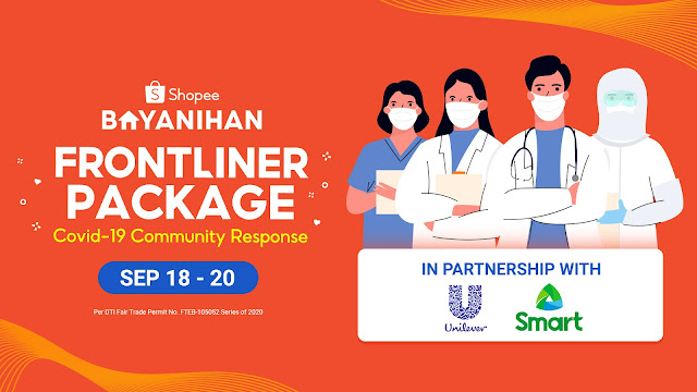 Shopee Launches the Shopee Bayanihan: Frontliners Package to Support Frontliners Amidst the Pandemic