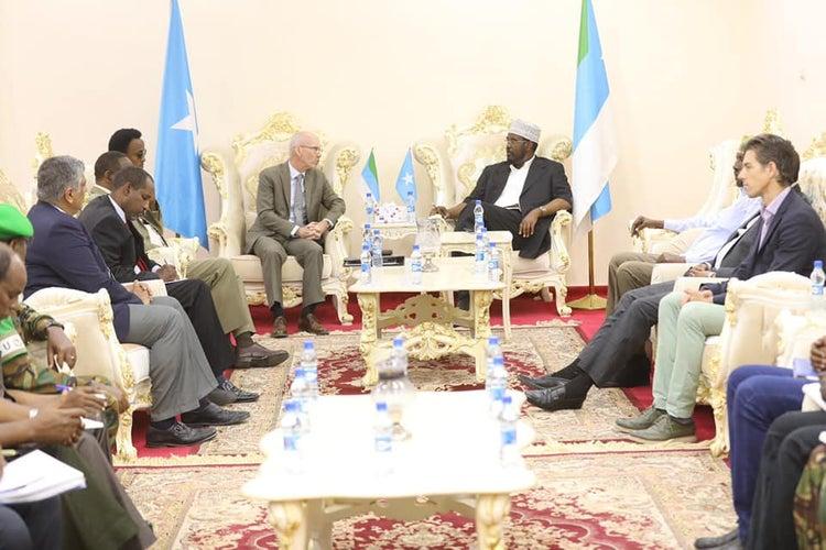مبعوث الأمم المتحدة يكرر دعوته لإجراء انتخابات حرة ونزيهة في جوبالاند