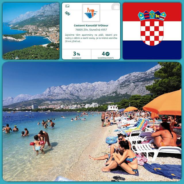Chorvatsko - levněji - Cashback World - milanrericha.cz