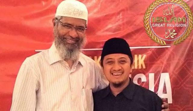 Dakwah di Indonesia, Zakir Naik dengan Biaya Sendiri dan tidak Terima Bayaran