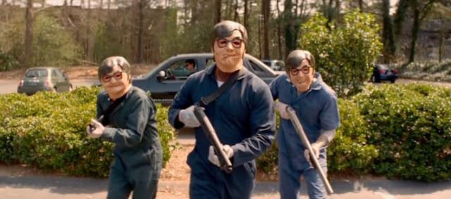 Mike Myers scene dans Baby Driver d'Edgar Wright (2017)