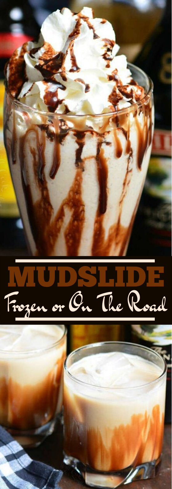 MUDSLIDES TWO WAYS #drinks #recipe #alcohol #beverages #latte