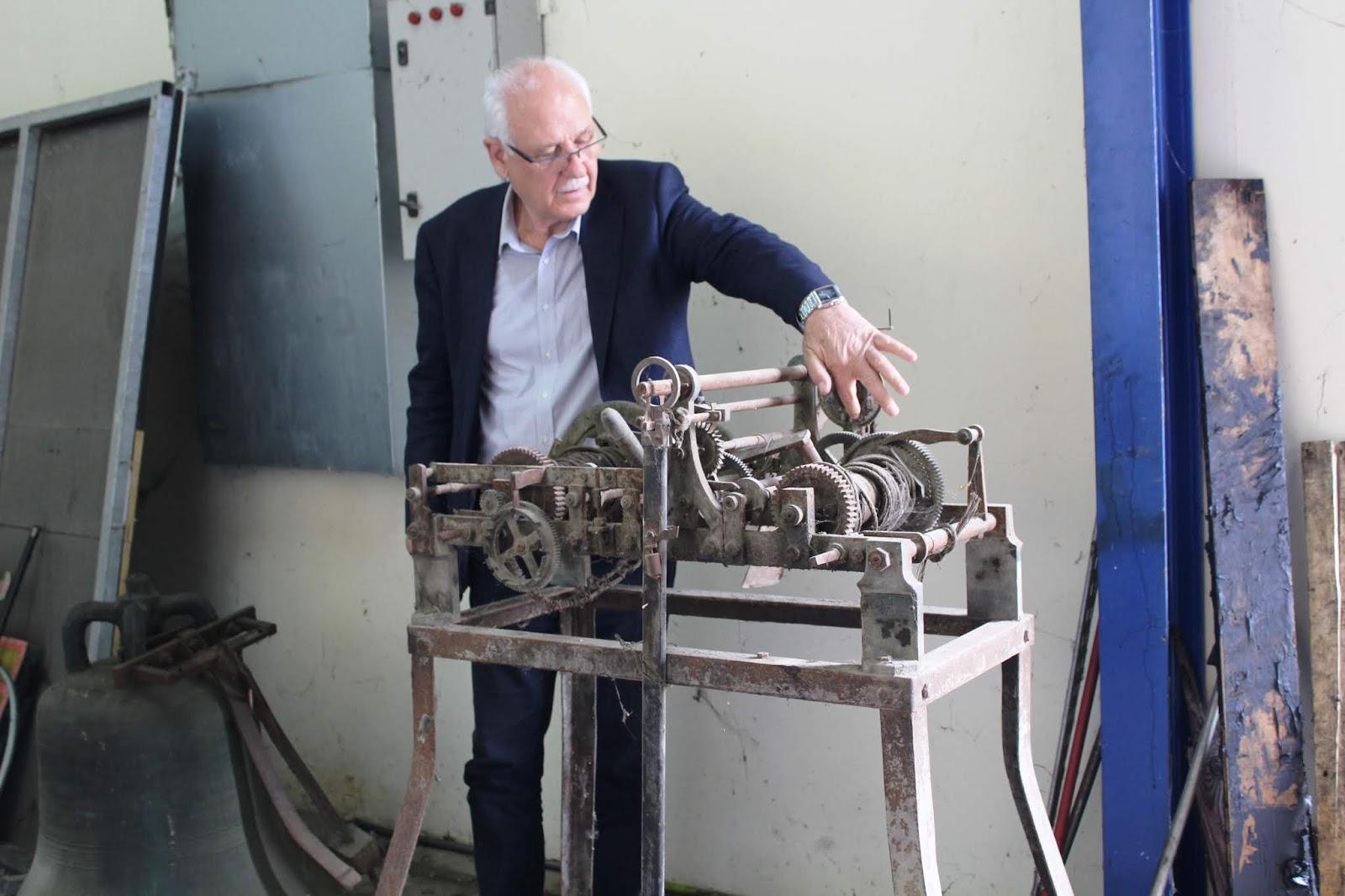 Αίσθηση προκάλεσε η είδηση για επανακατασκευή του ρολογιού της πόλης της Λάρισας