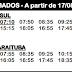 Horário de ônibus B33 BOCAIÚVA DO SUL 2020