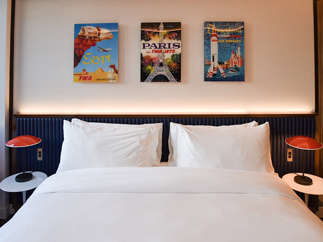 TWA Hotel JFK Hotel Room