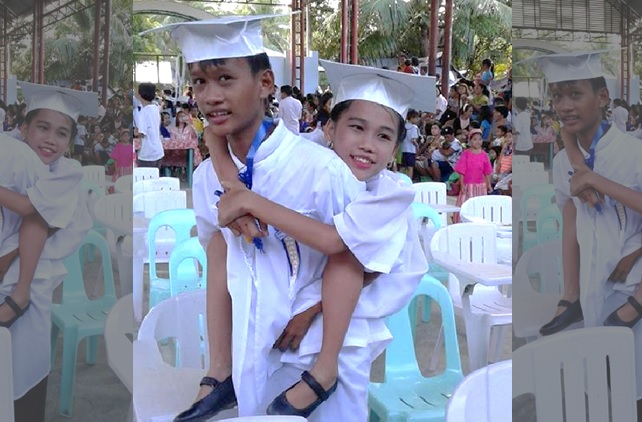 Selfless brother voluntarily skips a year in school to be classmate with disabled sister