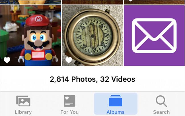 أمثلة على الصور المخصصة في صور iPhone.