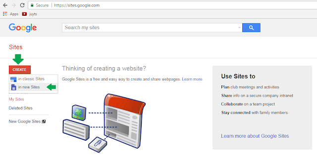 Cara Buat Website di Google Sites (Gratis)