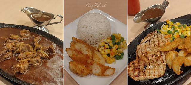 Steak 21 di Centre Point - Perdana Mencoba Steik di Plaza : Menu 01