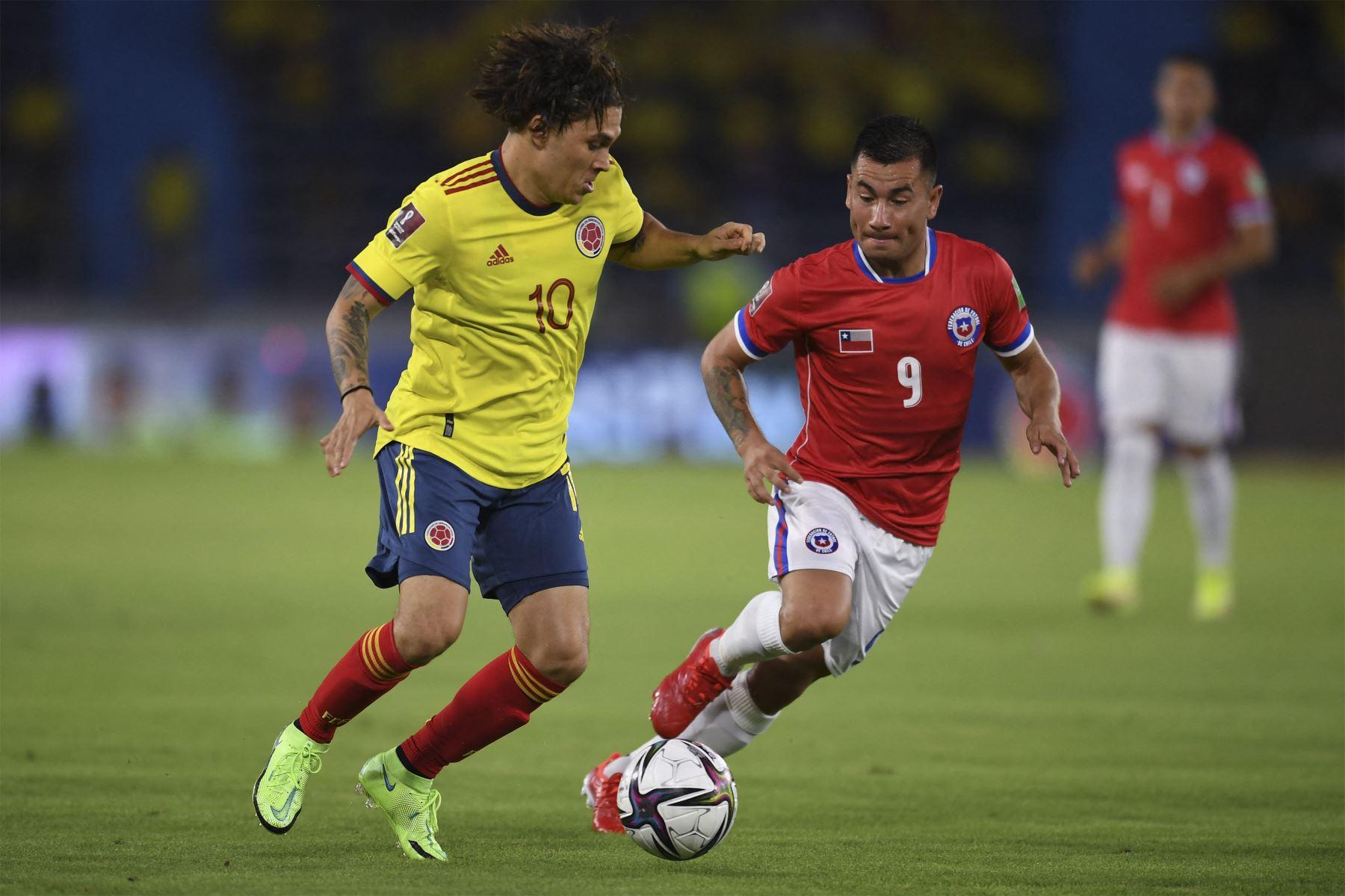 Colombia y Chile en Clasificatorias a Catar 2022, 9 de septiembre de 2021
