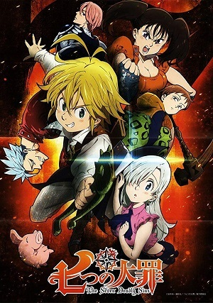 Nanatsu no Taizai - Todas as Temporadas Séries Torrent Download capa