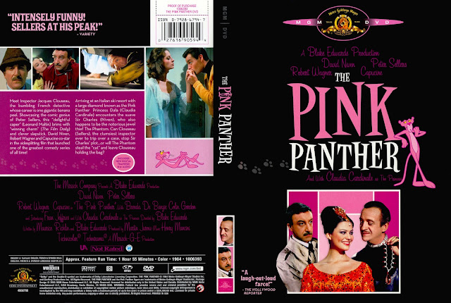 The Pink Panther DVD Cover