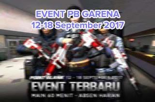 Event Point Blank Garena Indonesia Terbaru Tanggal 12-18 September 2017 Spesial Hari PMI