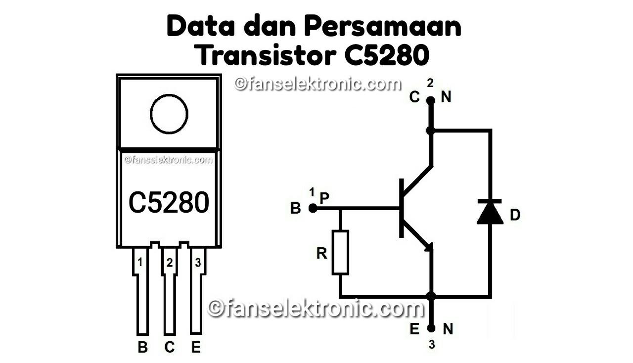 Persamaan Transistor C5280