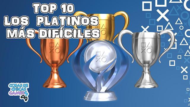 Top 10 - Los platinos más difíciles de PS3 y PS4