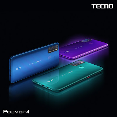TECNO Mobile launched the Pouvoir 4 – a smartphone with four days lasting power*