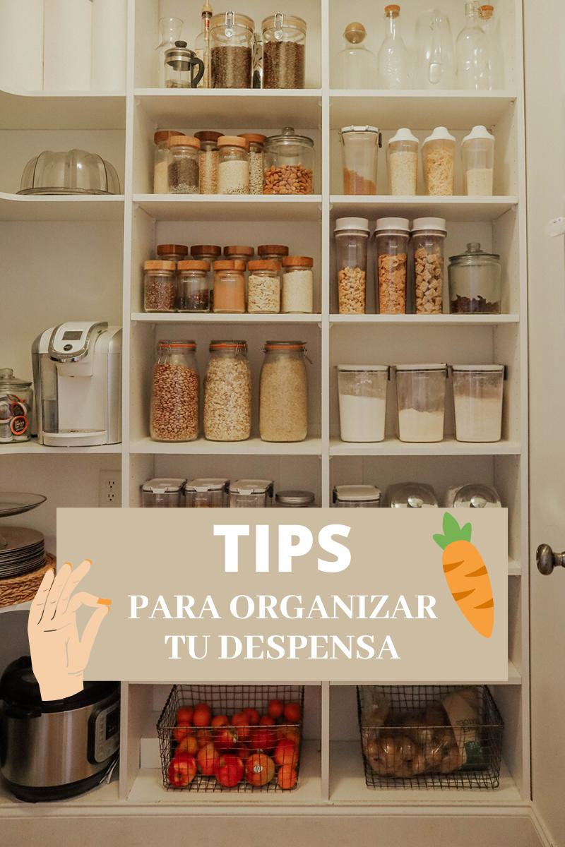 tips para organizar tu despensa