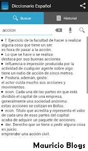 diccionario español de significados para android