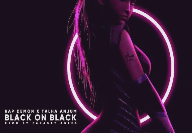 Black On Black Lyrics | Talha Anjum | Rap Demon