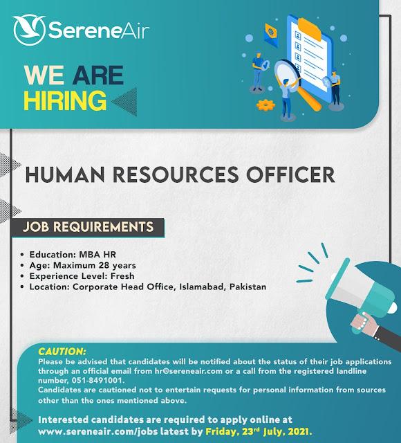 Serene Air Pilot Jobs 2021 – Latest Jobs in Pakistan 2021 Serene Airline Jobs 2021
