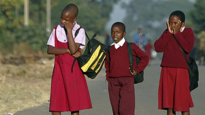 Zimbabwe bans the beating of children