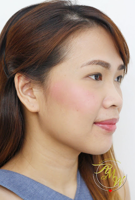 a photo of Cathy Doll C'est Bon Bon Cushion Blusher in Sugar Pink on nikki tiu Askmewhats