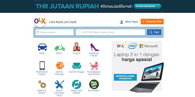 Kelebihan Menjual Produk Barang Online Di Olx