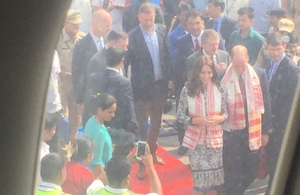 Tory Burch Chrissy Dress, Prince William and Kate Middleton visit Bhutan