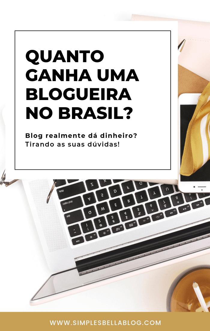 Quanto ganha uma blogueira no Brasil