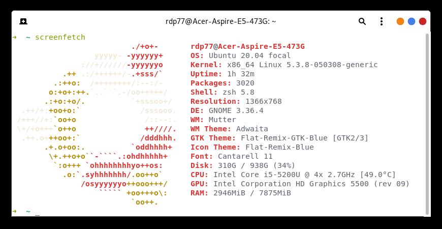 Melihat Spesifikasi Linux Di Terminal