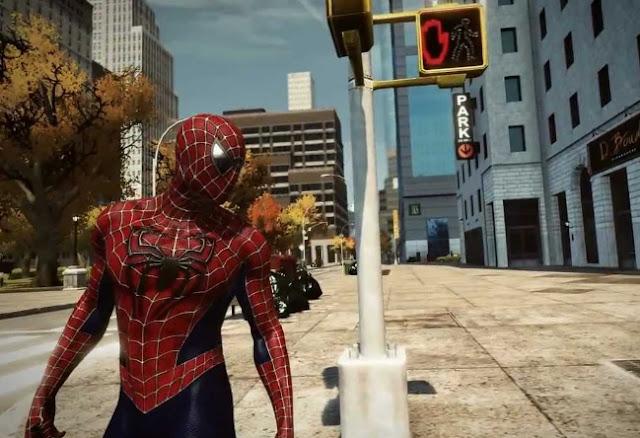 The Amazing Spiderman Game Ringan