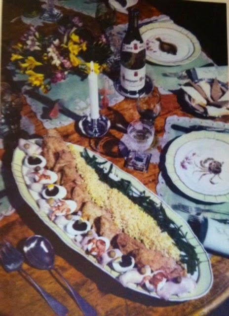 Spise Med Mormor: LAMMESTEG MED AGURKESALAT OG KOMPOT