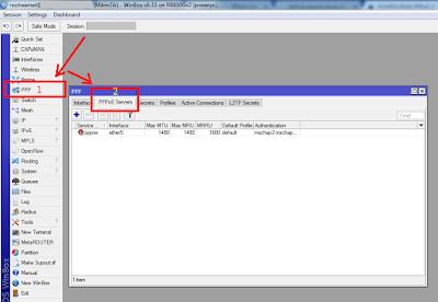 konfigurasi pppoe server di mikrotik