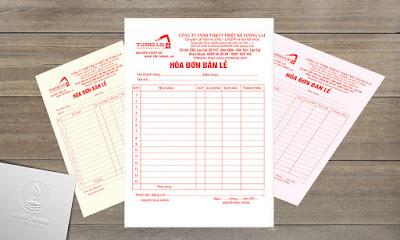 In hóa đơn bán hàng giá rẻ tại Hà Nội