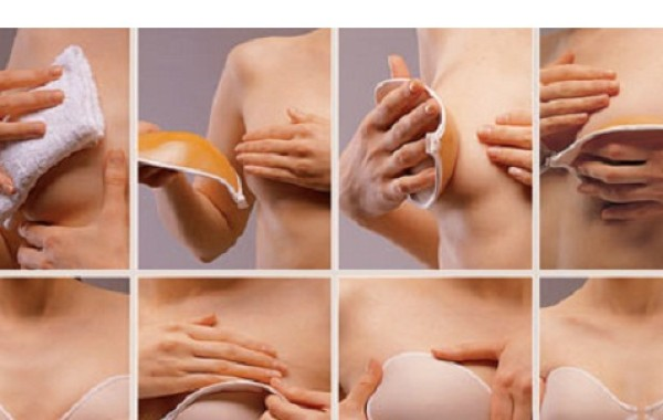 Your Step By Step Guide To The: How To Put On Your Stick On Bra. Step By Step Guide