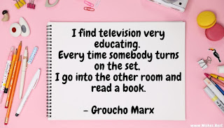 tv is taking away the habit of reading quote