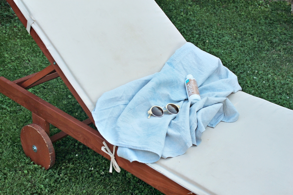 linen bathtowel