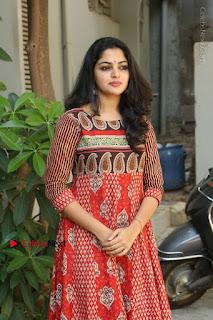 Telugu Actress Nikhila Vimal Latest Stills in Anarkali Dress  0170.JPG