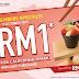Sushi King 的会员福利来咯! 以RM 1 元特惠价格吃手卷 California Temaki !