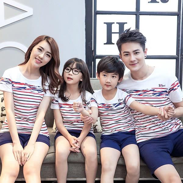Áo đồng phục gia đình mẫu 6