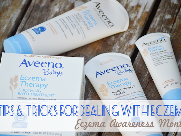 Tips and Tricks for Dealing with Eczema {Eczema Awareness Month} #AveenoEczemaTherapy #IC #ad