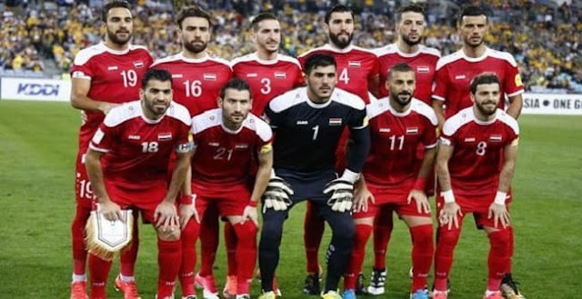 معسكر تدريبي في دمشق للمنتخب الأول استعداداً لنهائيات آسيا بكرة القدم