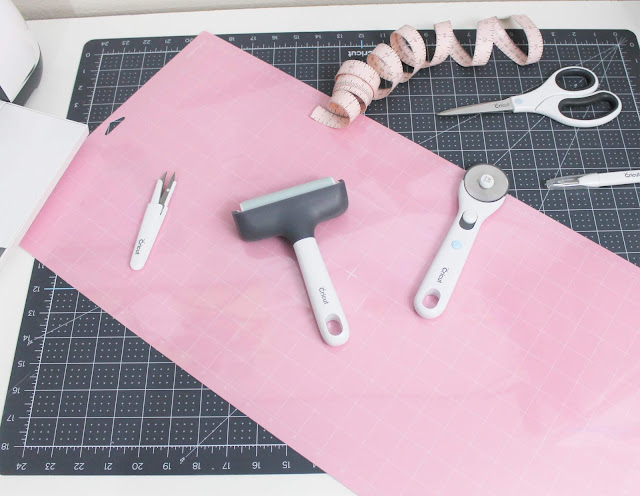 clean cricut pink mat