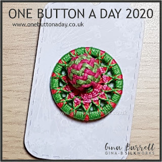 Day 317 : Jollify - One Button a Day 2020 by Gina Barrett