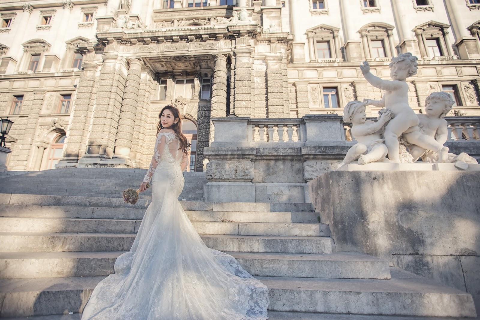 維也納婚紗 wien Vienna 奧地利 海外婚紗 布拉格PRAGUE婚紗 哈爾施塔特 世界最美的小鎮 法國巴黎麵包 威尼斯水都自助遊 婚攝小布哥 維也納豬肋排 教堂婚紗