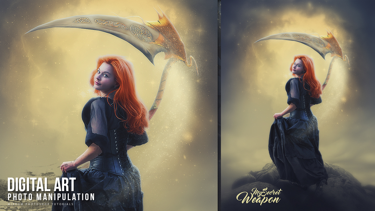 Create My Secret Weapon Photo Manipulation Photoshop Tutorial
