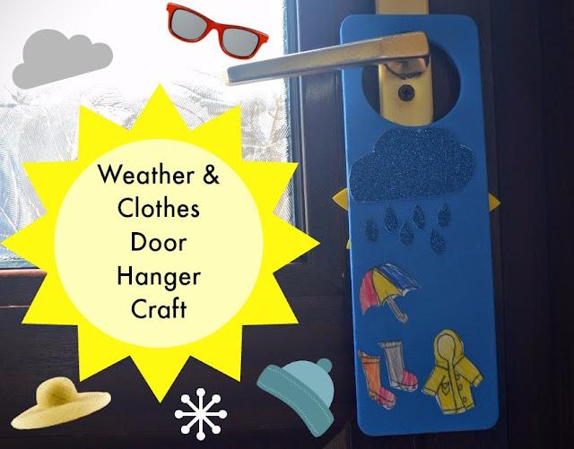 Hanger MobileCreative Craft for a Rainy Day